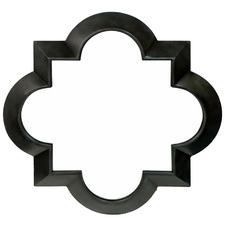Black Rakesh Metal Wall Mirror