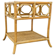 Cairns Bamboo & Rattan Side Table