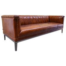 Marra 3 Seater Leather Sofa