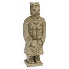 Crossed Arms Warrior Statue