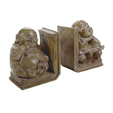 Buddha Bookends (Set of 2)