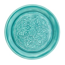 Ornate Distressed Accent Plate