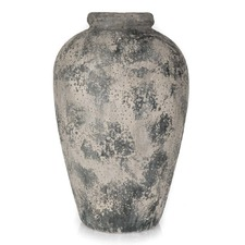 Distressed Ceramic Urn