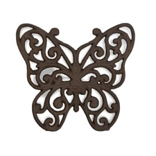 Ornate Butterfly Trivet