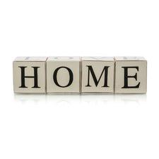 Love Home Affirmation Letter Block