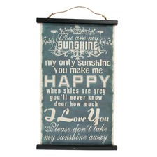 Affirmation Hanging Wall Art