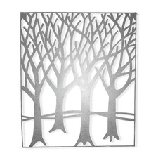 Winter Forest Iron Wall Art