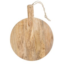 Mango Wood Round Serving Board