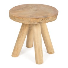 Lapogo Round Wooden Occasional Table
