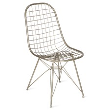 Statement Wire Dining Chair