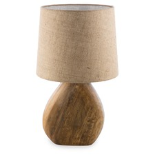 Wooden Manila Table Lamp
