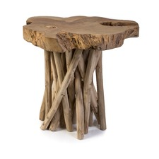 Wooden Teak Root Stool