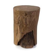 Wooden Teak Cylinder Stool