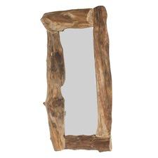 Java Teak Antique Wood Mirror