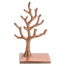 Small Copper Jewellery Tree