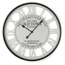 68cm Old Town Roman Numerals Wall Clock