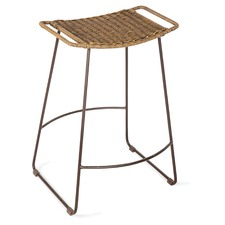 Surya Counter Rattan Stool