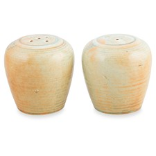 Porcelain Organic Salt & Pepper Shakers (Set of 6)