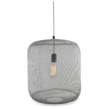 Mesh Iron & Brass Pendant Light