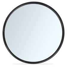 Round Iron Mirror