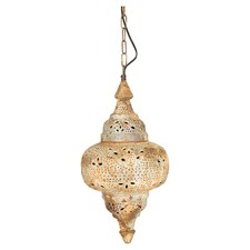 Rustic Rounded Iron Pendant Light