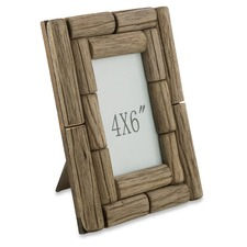 "4 x 6"" Tanoak Wood Photo Frame"
