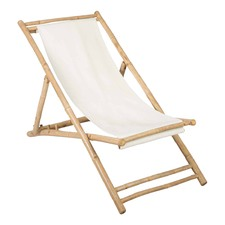 Bamboo Canvas Relaxing Chair