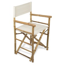 Bamboo Directors Chair with Canvas