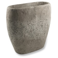Raw Natural Large Cement Urn Vase