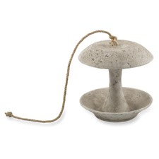 Raw Natural Polyresin Hanging Bird Feeder