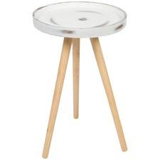 Small Round Concrete Coffee Table