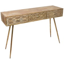 Filigree Metal Console