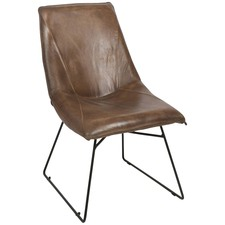 Manor Occasional Leather Chair