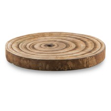 Natural Wooden Semarang Paulownia Trivet X Small