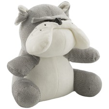 Grey Chet The Dog Polyester Door Stopper