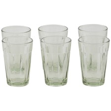 Set Of 6 Bailey Glass