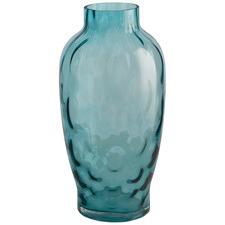 Large Light Bubble Glass Vase