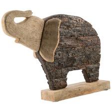 Mango Wood Elephant Statue