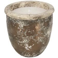 Bronze Metallic Fade Ceramic Candle