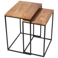 2 Piece Ava Nesting Side Table Set