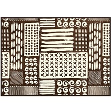 Tribal Abstract Canvas Wall Art