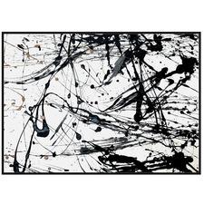 Splash Framed Canvas Wall Art
