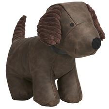 Brown Rex The Dog Door Stopper