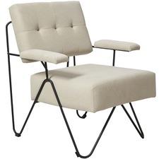 Beige Takumi Cotton Arm Chair