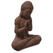 Terracotta Banyu Cross Legged Female Buddha Statue