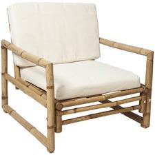 Ibiza Bamboo Chair with Cushion