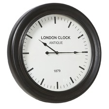 London Classic Wooden Wall Clock