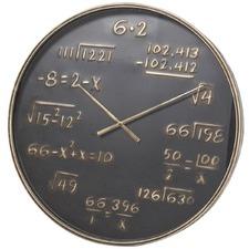 80cm Mathematics Metal Wall Clock