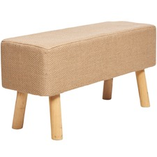 Natural Rectangular Jute Stool