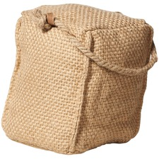 Natural Goran Square Jute Door Stopper